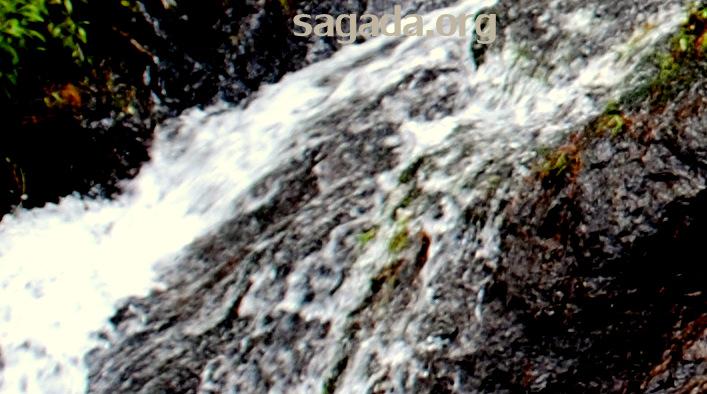 Balugan, Sagada: Waterfall 2011
