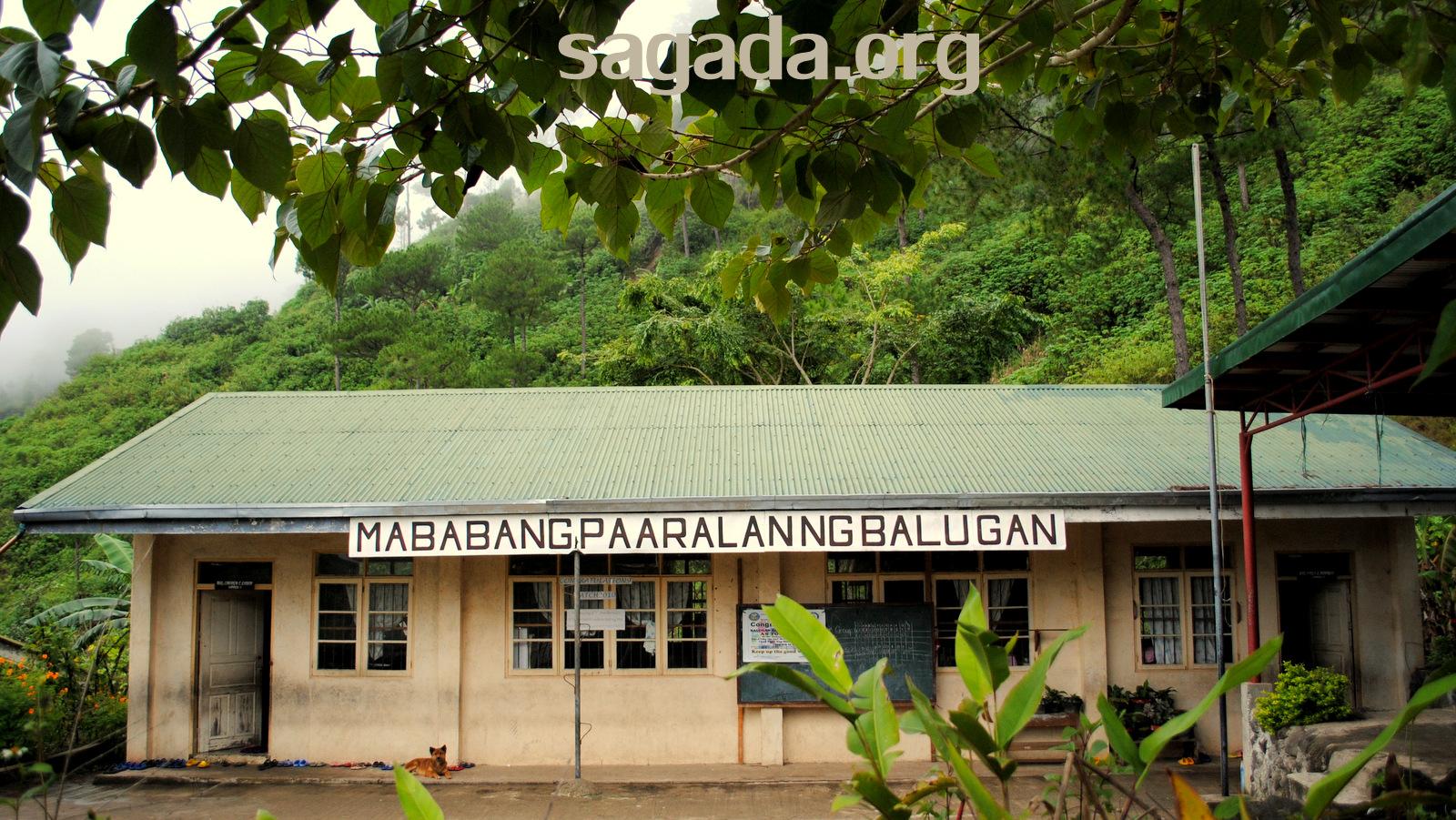 Balugan Elementary School, Sagada 2011