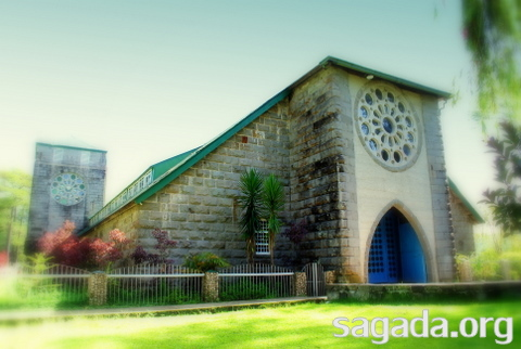 Church of St Mary the Virgin, Sagada 2010