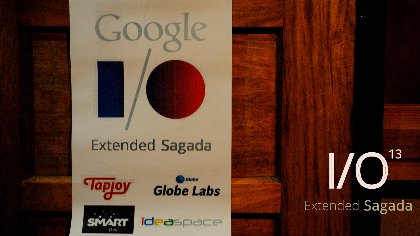 Google I/O Extended Sagada (Philippines) 1708